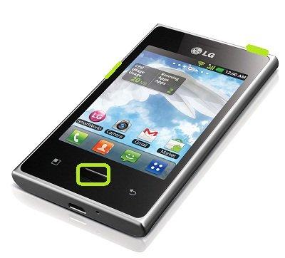LG Optimus L3 E400 - Hard Reset