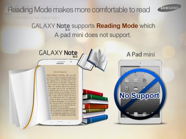 Note 8.0 vs iPad Mini - 2