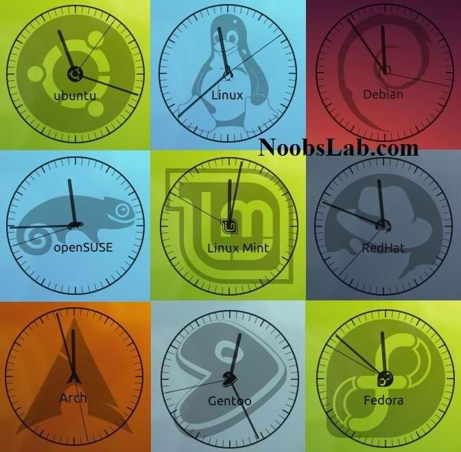 conky-clock
