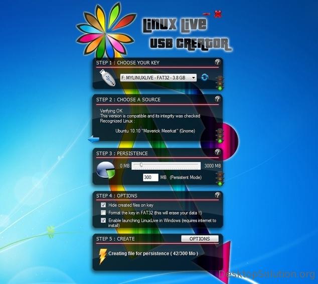 Linux Live USB Creator