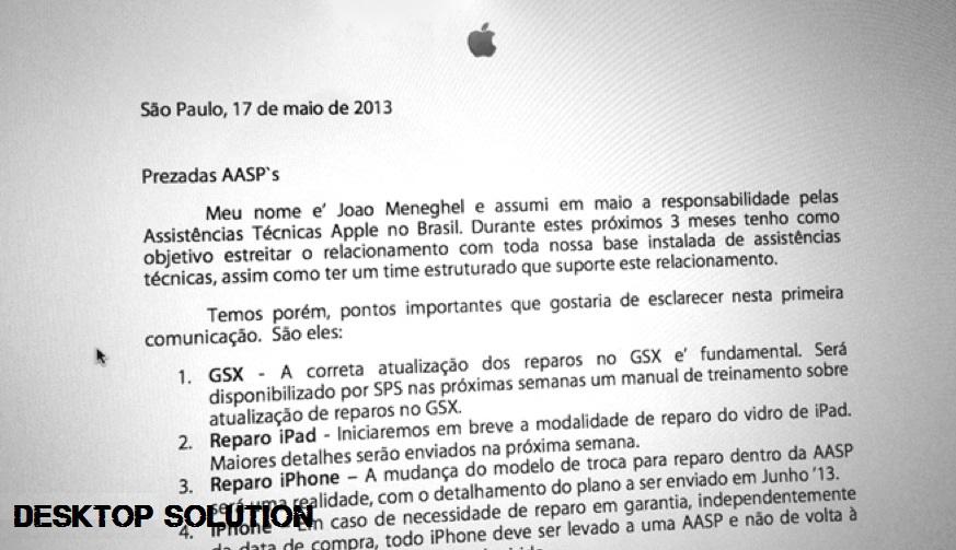 Apple Email Brazil