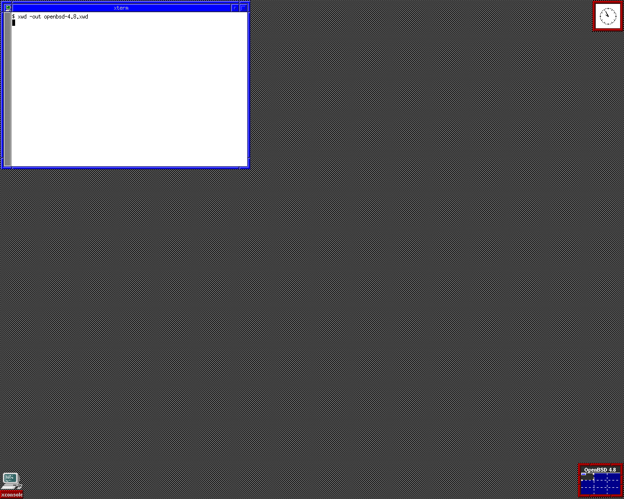 Open BSD 5.3 - Home