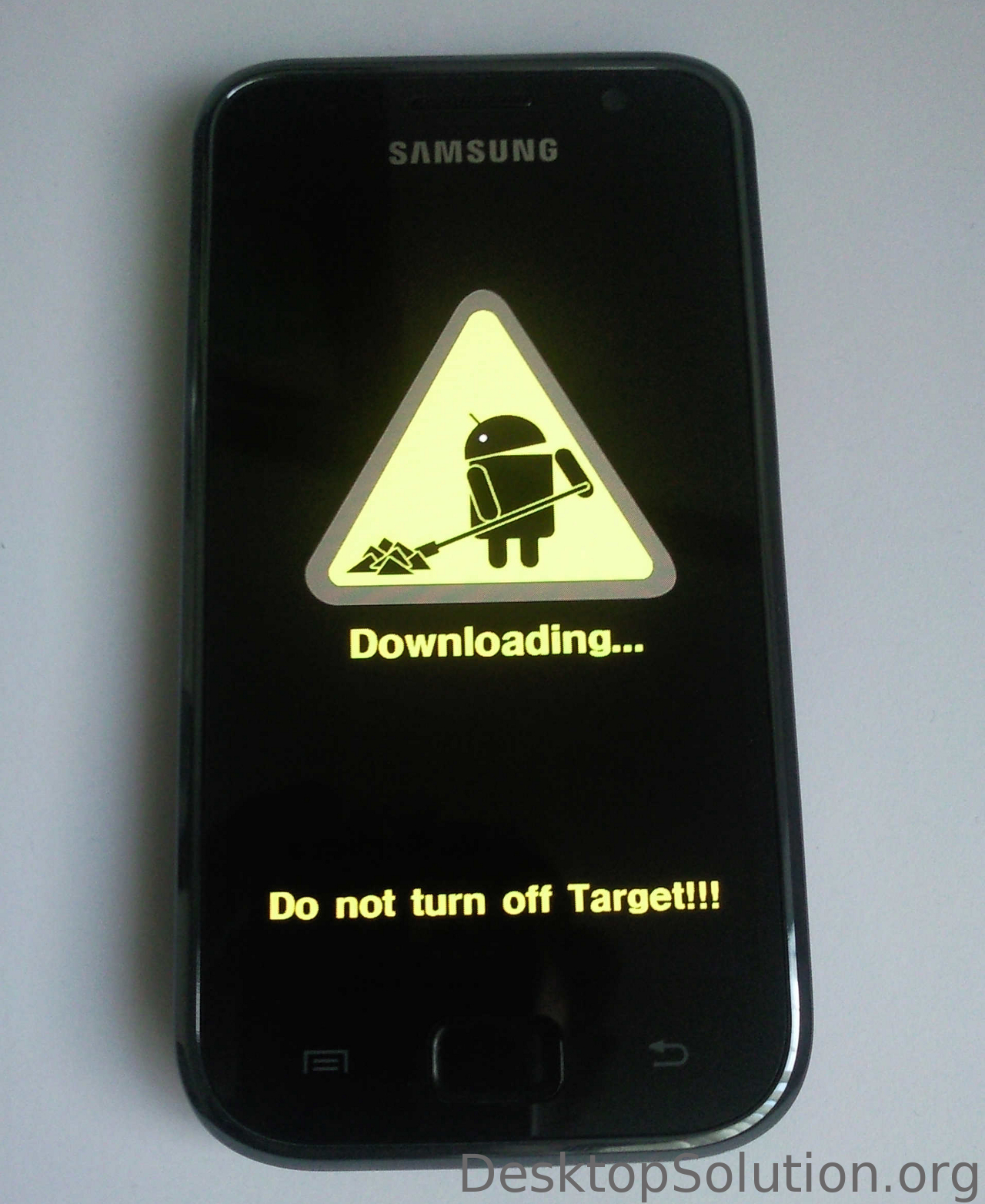 Samsung Galaxy S (GT-i9000) - Download mode