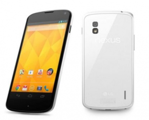 Ecco il Nexus 4 in versione bianca (o meglio, bicolore)!