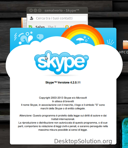 Skype 4.2 Linux
