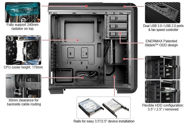 Enermax - iVektor - Spec