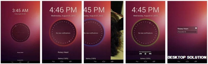 Ubuntu Lockscreen For Android