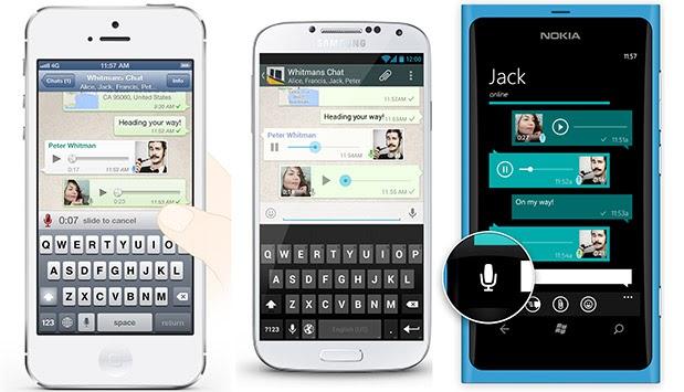 WhatsApp - Messaggi - Vocali