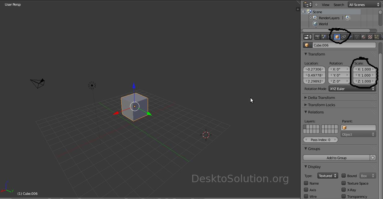 Cubo - proprietà