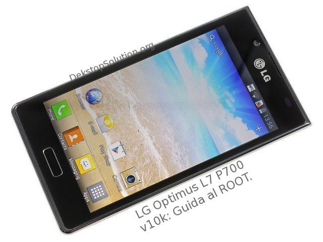 LG l7 p700 root