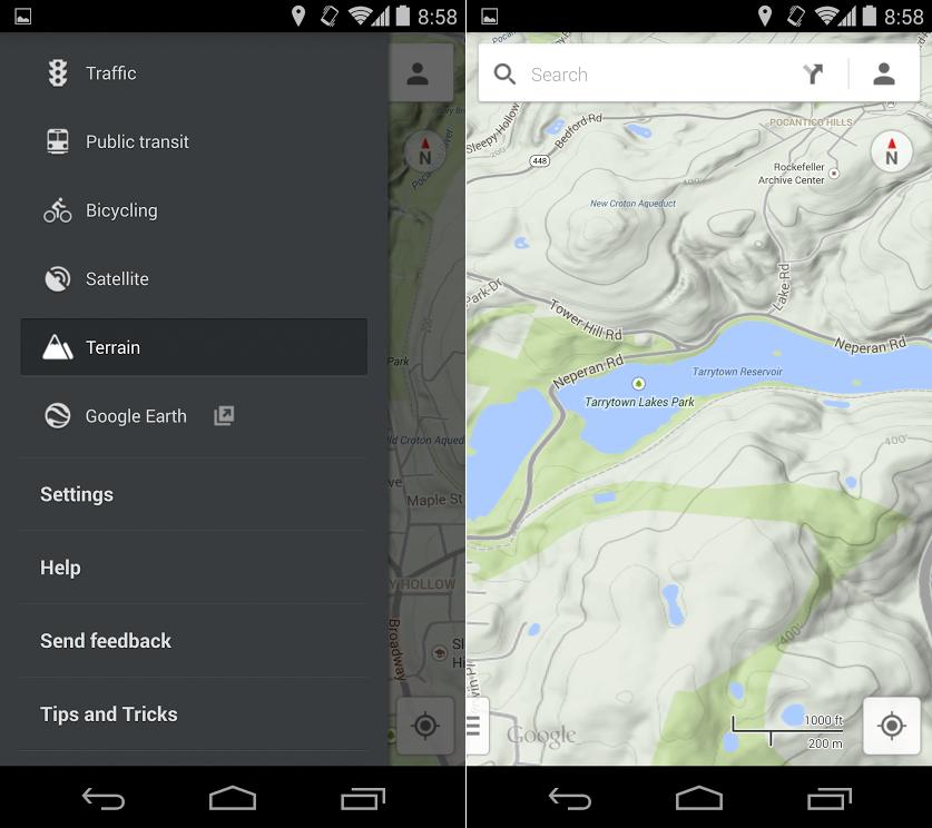 Google Maps 8.1