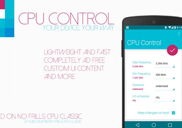 [CPU Control] Android app per il controllo della CPU [Root][APK]