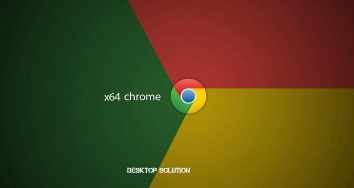 Google Chrome 37, arriva la versione x64