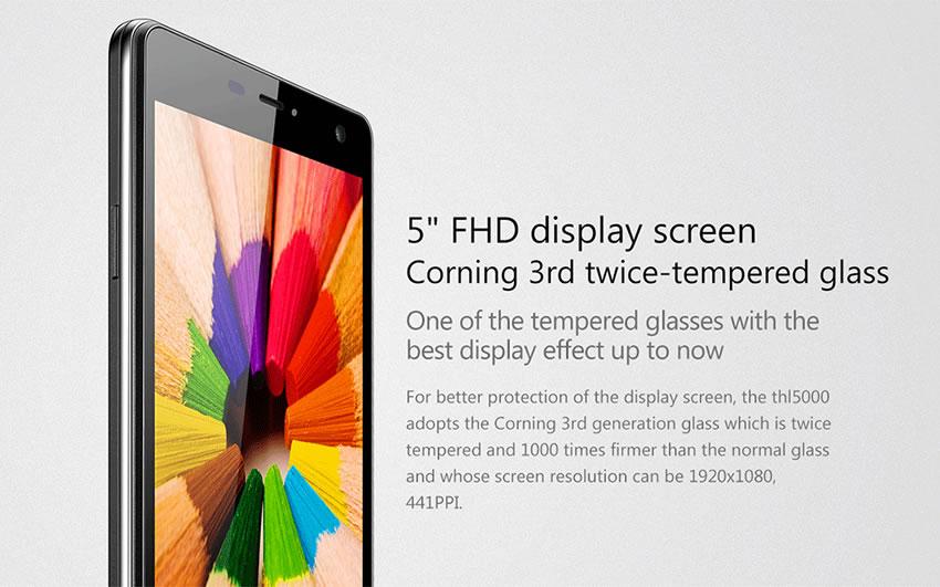 THL_5000 display