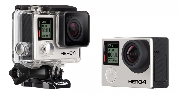 GoPro Hero 4, video in 4K e prezzi di vendita