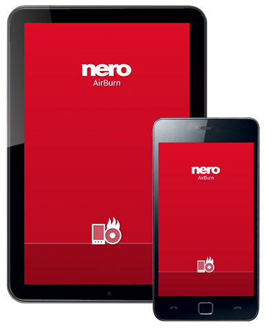 Nero AirBurn - Android e iOS