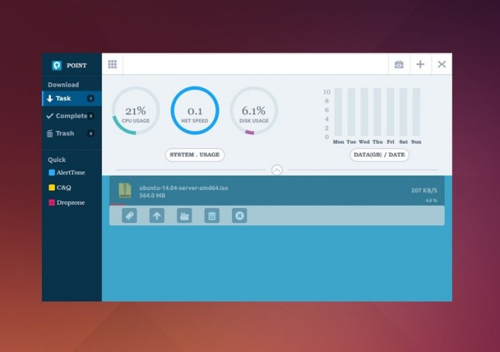 [PointDownload] download manager di [Linux Deepin]