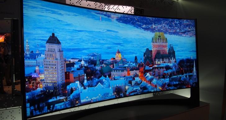 Samsung, nuovo TV 4K da 105″ con curvatura regolabile