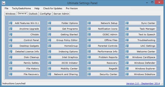 Ultimate Settings Panel - Windows - img3