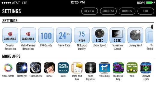 Registrare in 4K con iPhone 5s