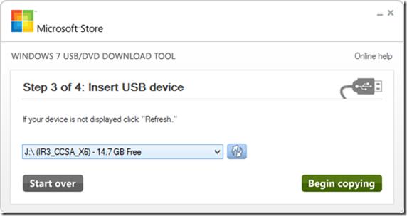USB-DVD Download Tool - Windows 10 - 3