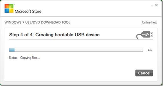 USB-DVD Download Tool - Windows 10 - 5
