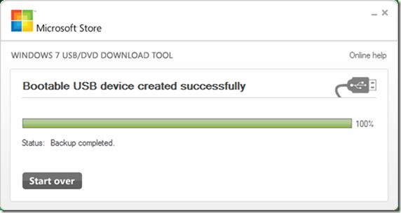 USB-DVD Download Tool - Windows 10 - 6