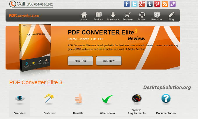 PDF converter Elite 3 review