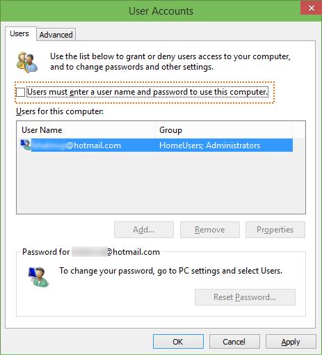 Windows 10 - Account Utente