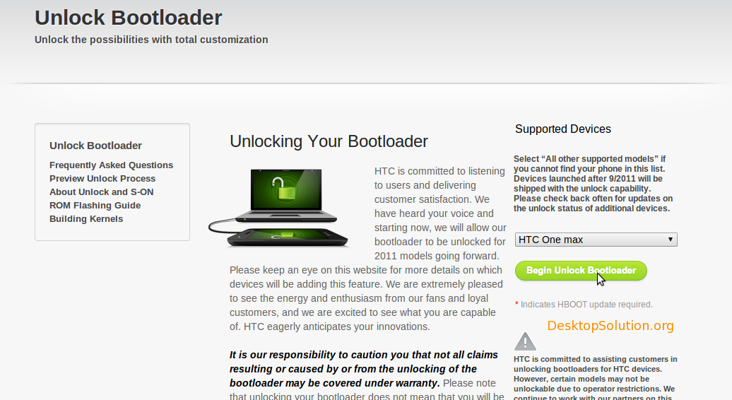 htc one max bootloader
