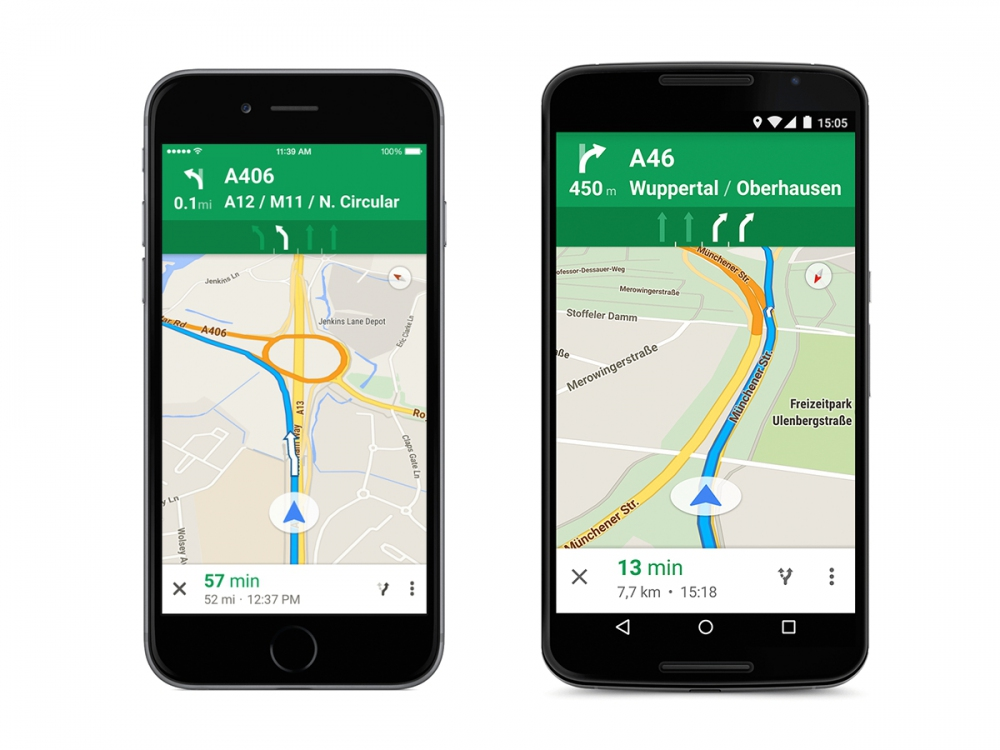 Google Maps - Corsie