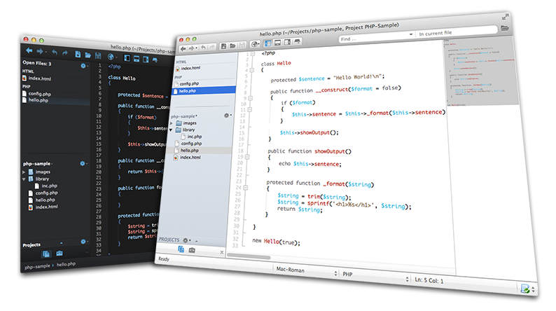 Komodo IDE - Esempio
