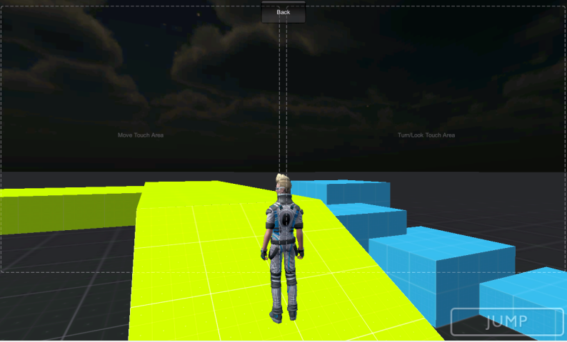 unity sample assets third person