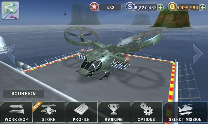 GUNSHIP-BATTLE-Helicopter-3D-mod-apk