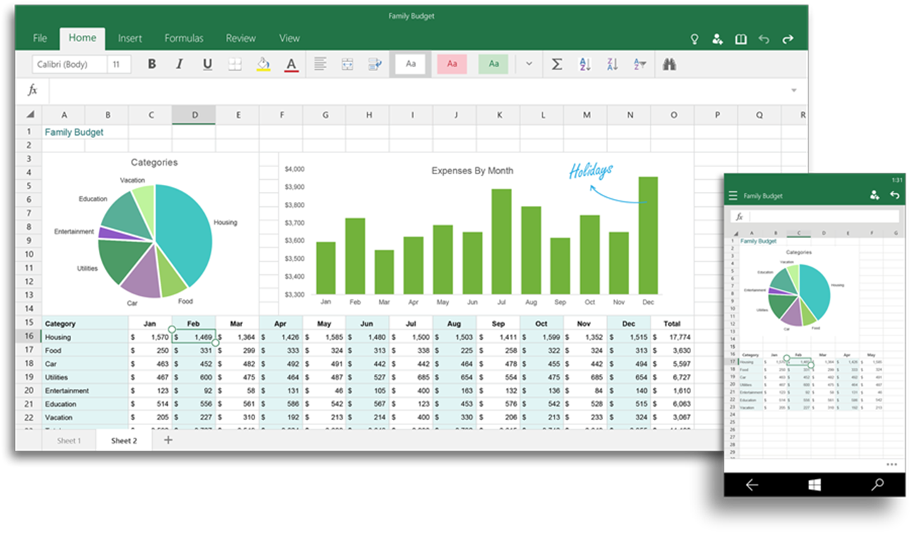 Office Apps - Excel