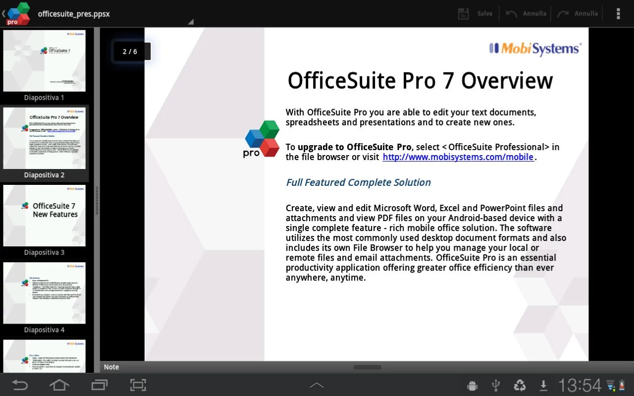 OfficeSuite Premium 7