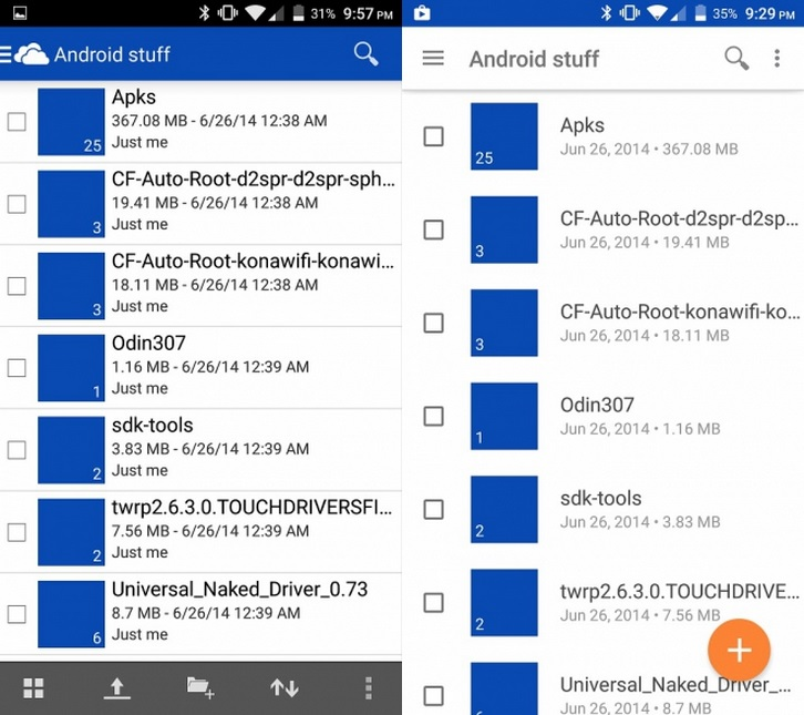 OneDrive - Android - Beta 1