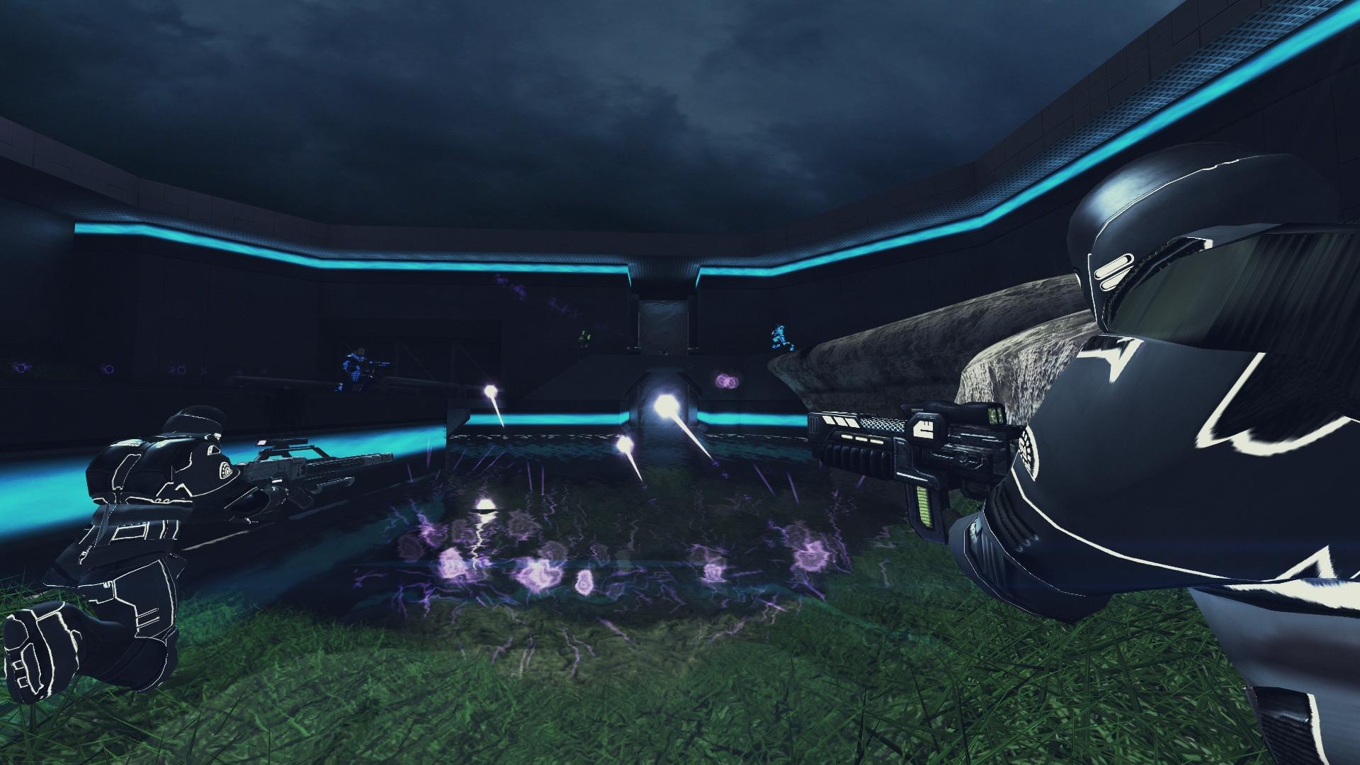 Xonotic arena