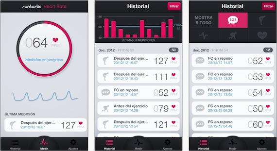 Runtastic Heart Rate PRO - Android