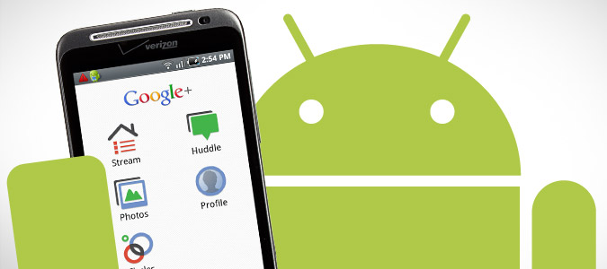 google+ android browser
