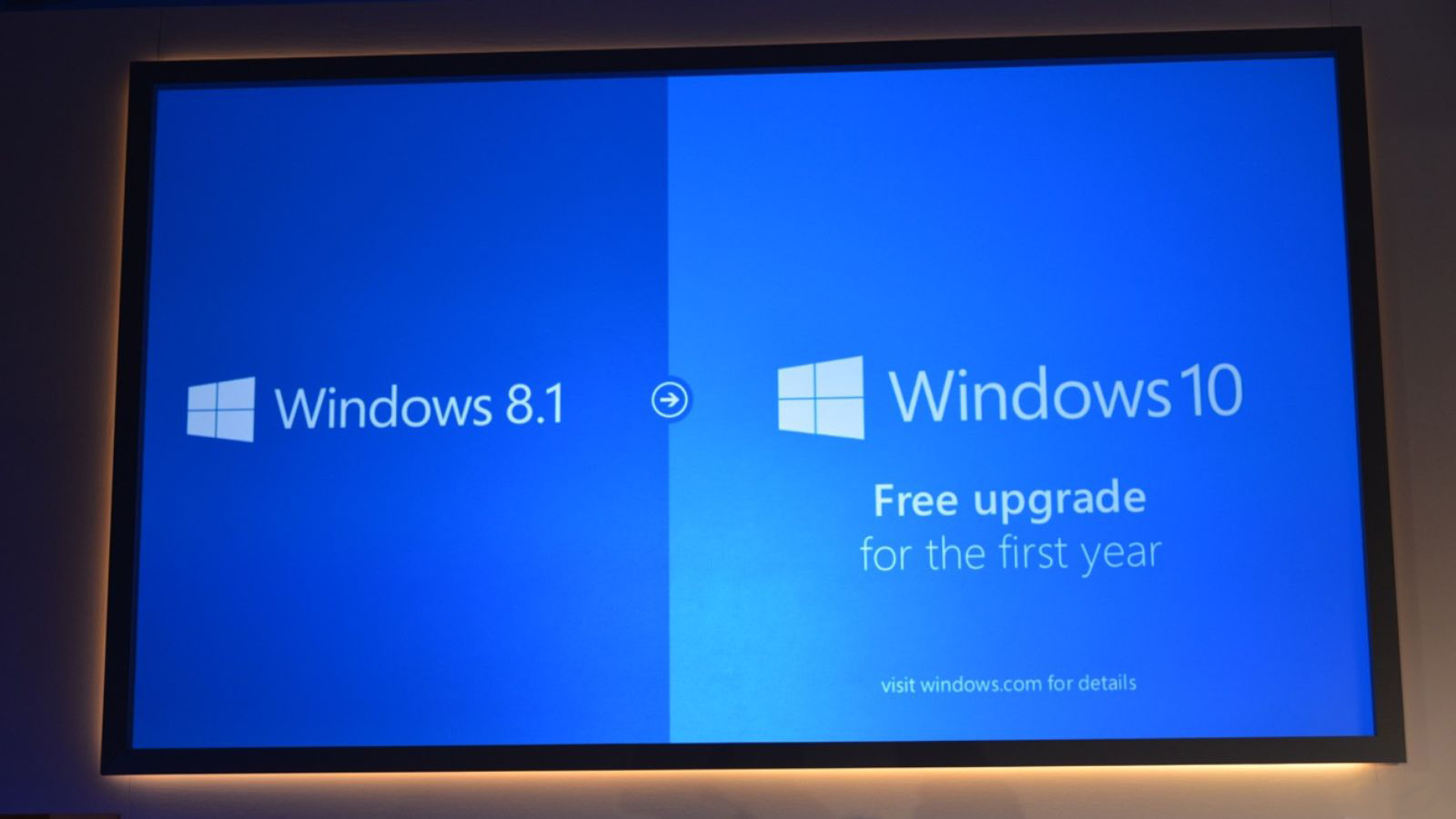microsoft - windows 10 - free upgrade for the first year