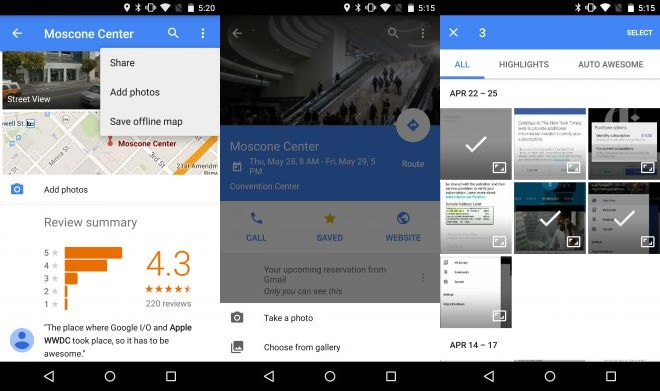 Google Maps 9.8.0 - Android