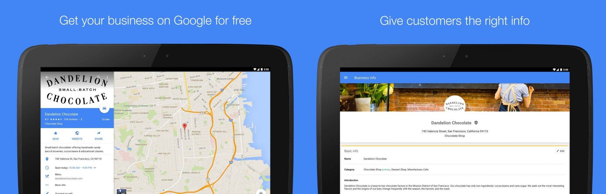 Google My Business - Android