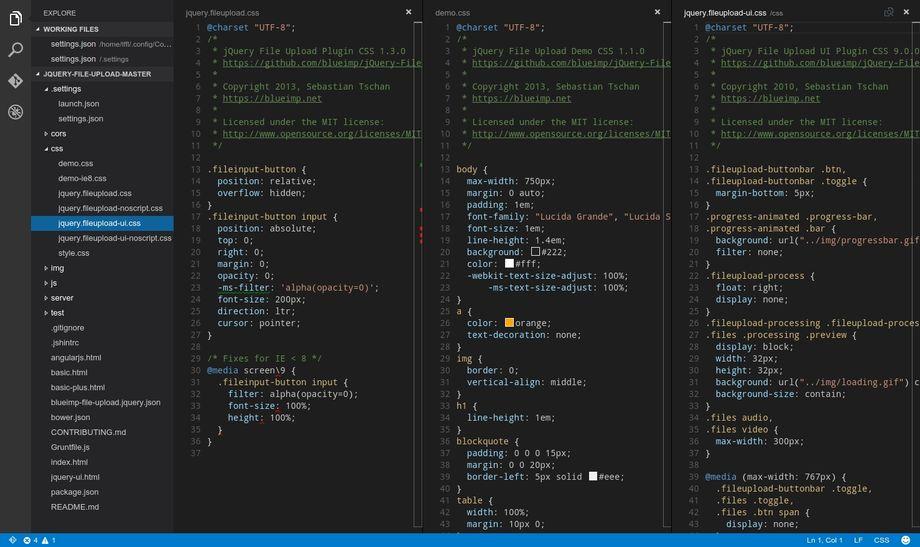 Visual Studio Code in Linux
