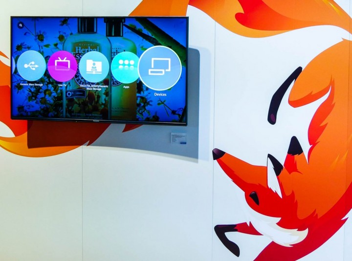 Firefox OS panasoinc tv