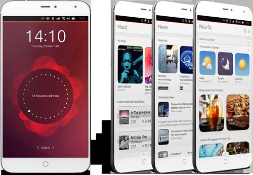 Meizu - MX4 - Ubuntu Touch