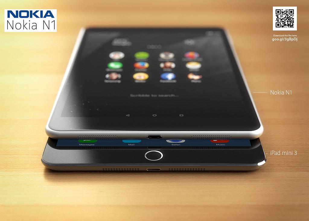 Nokia N1 vs iPad Mini 3