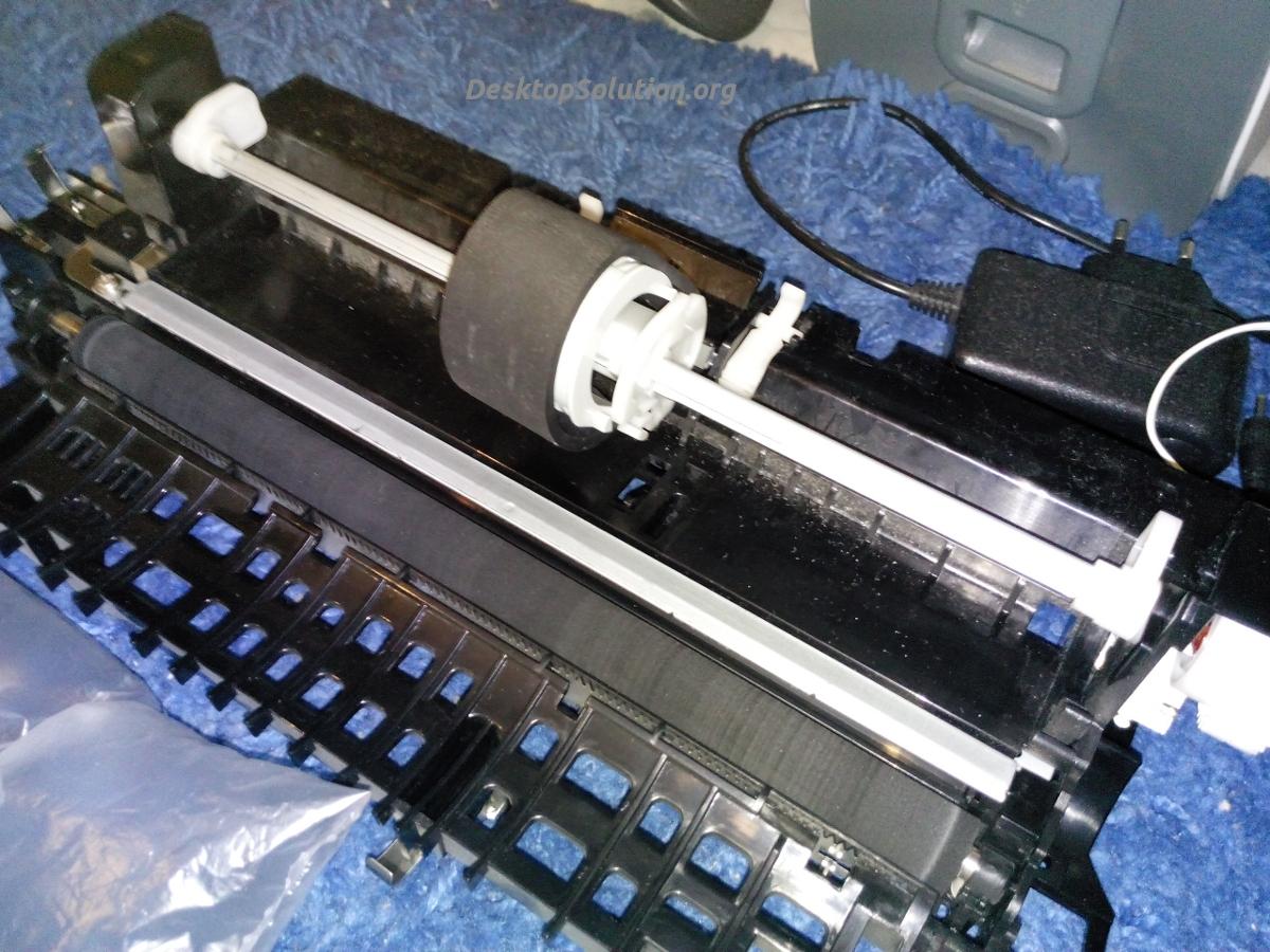 Rullo stampante montato