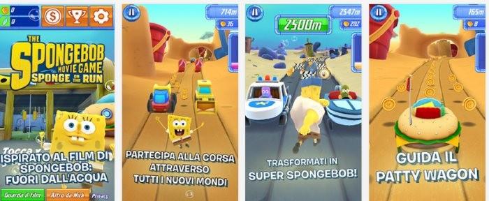 Spongebob - La Grande Corsa - Screen