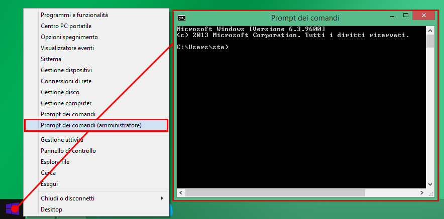 hotspot wifi - windows - prompt comand